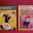 LOT OF 2 DVD POPEYE & CARTOON SUPERSTARS