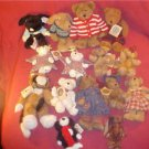 HUGE LOT OF BOYD'S BEARS ALL RETIRED