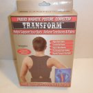 Transfrom Padded Magnetic Posture Corrector