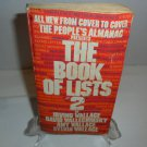 1980 The Book Of Lists 2 The People's Almanac Book