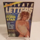1985 High Society's Private Letters, Confessions of a Porn Star Book