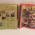 Lot Of 2 High Times Magazine 1978 White House Dope Scandal