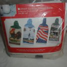 "NIP Towel Toppers Terry Towel Kit ""LIGHTHOUSE"" #7136"