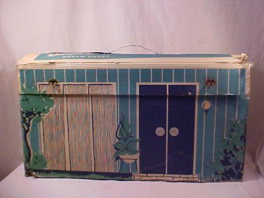 ORIGINAL 1962 BARBIE DREAM HOUSE W/ ORIGINAL FURNITURE