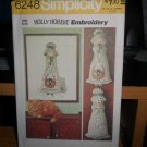 Simplicity Holly Hobbie Embroidery sewing Pattern #6248 uncut