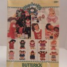 Butterick Cabbage Patch Kids Ornaments sewing Pattern #3381 uncut