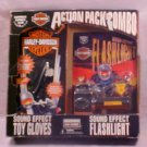 1995 HARLEY DAVIDSON ACTION PACK FLASHLIGHT/GLOVES MIB
