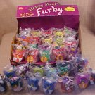 LOT OF 33 FURBY HAPPY MEAL TOYS WITH DISPLAY RARE