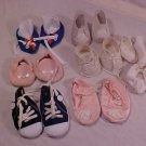LOT OF VINTAGE CABBAGE PATCH KIDS DOLL SHOES AND SOCKS