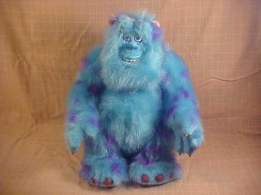 "DISNEY MONSTER INC. TALKING 15"" SULLEY PLUSH TOY"