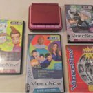 2005 Video Now XP Pink Interactive Video System Disc & 4 Games
