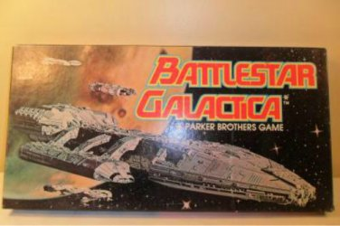 1978 Parker Brothers Battlestar Galactica Board game complete
