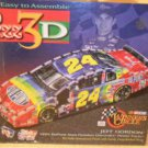 1999 NASCAR JEFF GORDON 3D PUZZLE HASBRO MONTE CARLO