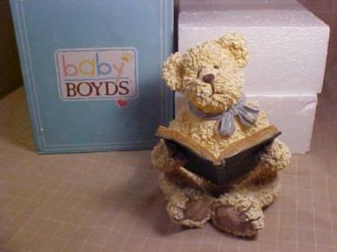 2004 MIB BOYDS BEARS COLLECTION TEDDY STORYTIME