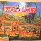 1990 Monopoly Junior Dig'n Dinos Board Game