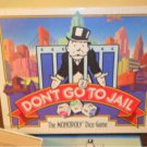1991 Don't Go To Jail The Monopoly Dice Game complete