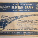 Vintage Electric Train Lot Originial Happy Time Train Box 8 Cars 1 Locomotive