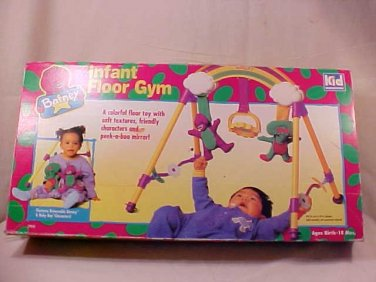 Barney Infant Floor Gym Colorful floor toy