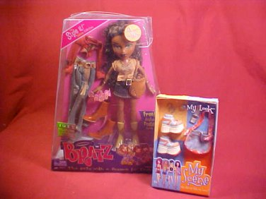 2003 bratz doll sasha style it fashion collection NRFB