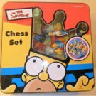 Cardinal Games The Simpsons Chess Set In Tin Box