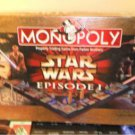 Star Wars Episode 1 Collector Edition Monopoly 3-D board game complete 1999