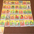 1989 Topps Super Star baseball cards lot 37 small 3 1/4