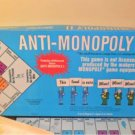 1977 Anti-Monopoly II 2 Complete National Games Ralph Anspech