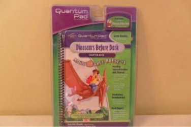 LeapFrog Quantum Pad Dinosaurs Before Dark New/Sealed Grade 3-4 Chapter Book