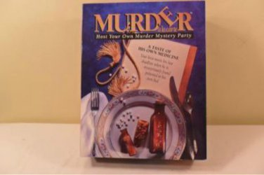 1993 MURDER HOST YOUR OWN MURDER MYSTERY PARTY GAME