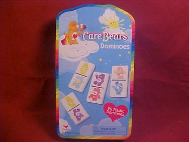 2003 CARE BEARS DOMINOES AND TIN