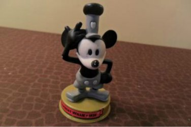 Steamboat Willie Mickey Mouse McDonald's Toy 100 Years Disney 2002
