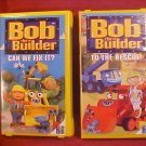 LOT OF 2 BOB THE BUILDER VHS VIDEO TAPES