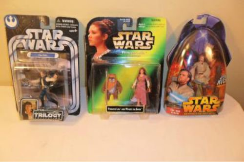 Lot Of 3 Star Wars Action Figures MIB