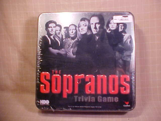 2004 THE SOPRANOS TRIVIA BOARD GAME NEW