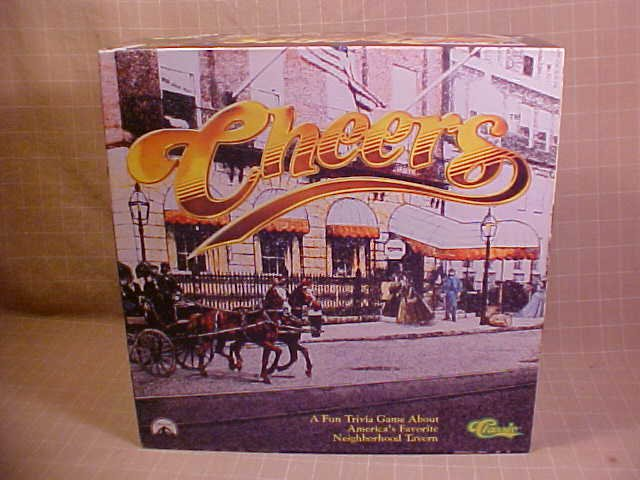 1992 CLASSIC CHEERS TRIVIA BOARD GAME COMPLETE