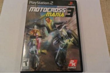 PLAYSTATION 2 GAME MOTOCROSS 3 MANIA