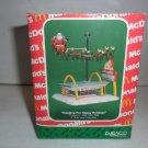 MIB 1990 Enesco Treasury McDonalds Collection Christmas Ornaments