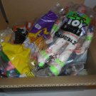Med. Size Box filled with collectible McDonald's and Burger King Happy Meal Toys