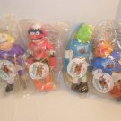 1995 Lot of 4 McDonald's Muppets NHL Hockey Players Dolls MIP