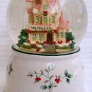 Pfaltzgraff Winterberry 2000 Musical Snow Globe pleasuresntreasures