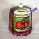 Uptown Market Jam Jar and Spoon pleasuresntreasures