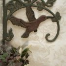 Cast Iron Hummingbird Plant Hanger - Set of 2