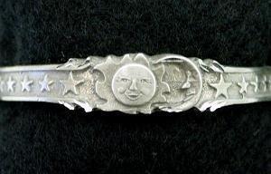 Biomagnetic Bracelet - Sun and Moon