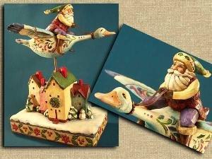"Jim Shore ""Riding Mallard Duck"""