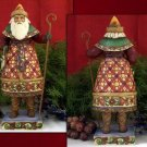 """Jim Shore """"Santa With Skates"""""""