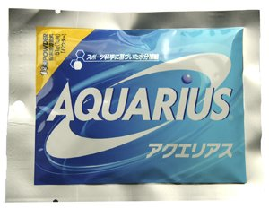 Aquarius Sports Drink  powder 1 pack  [coca-cola]