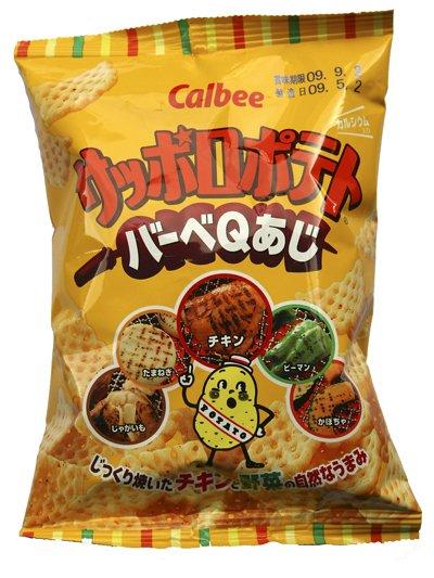 Sapporo Potato ...barbecue flavor / small bag (Calbee)