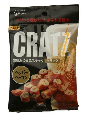 Bacon Pepper CRATZ with almonds [Glico]