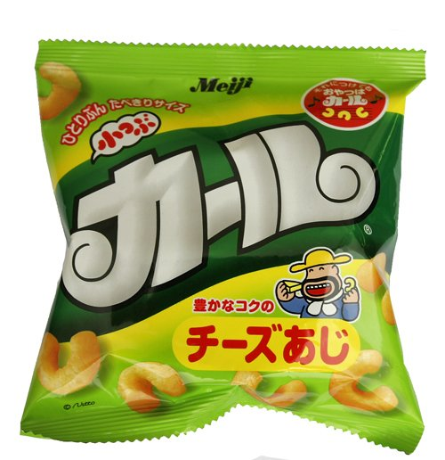 Cheese Curls [Meiji] -- small pk