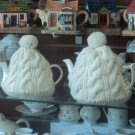 Aran Sweater Tea Cozy for 6 to 10 Cup Teapot